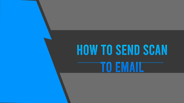 how to send scan to email