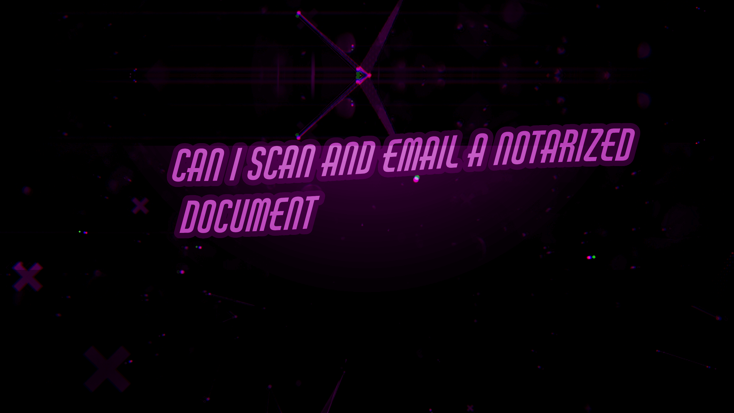 Where To Scan And Email