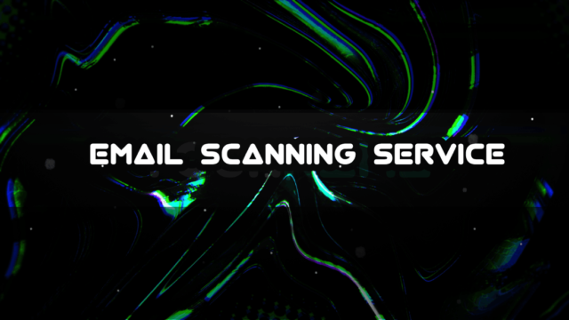 email scanning service
